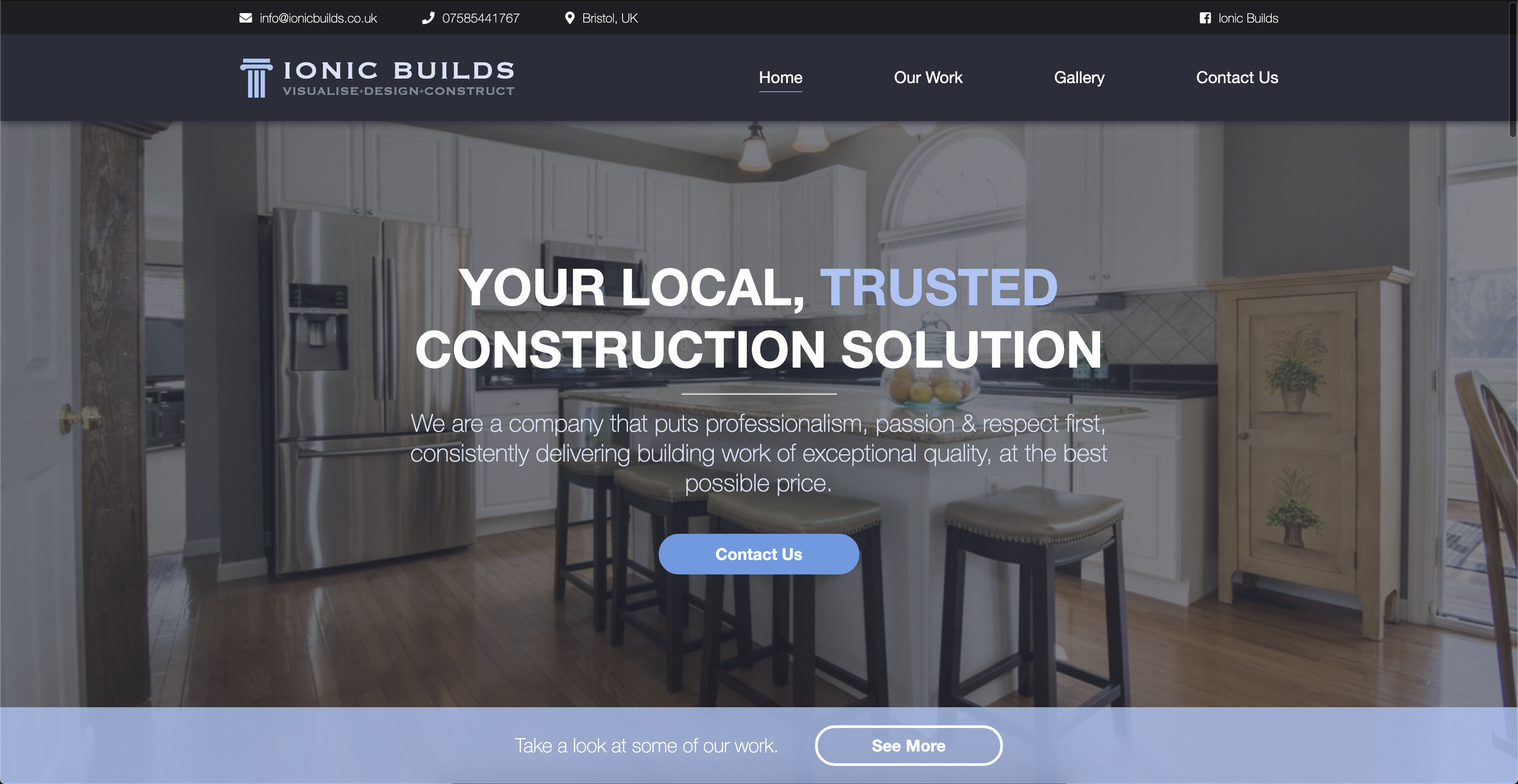Home page of www.ionicbuilds.co.uk